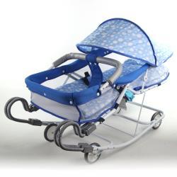 Babybabe 強化雙管加寬型彈搖床