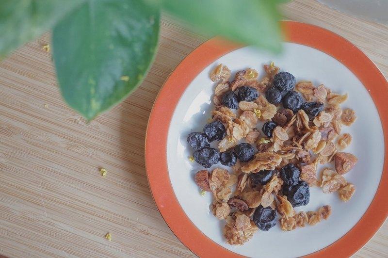 藍莓桂花脆脆燕麥片