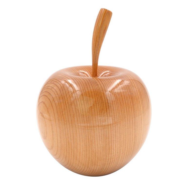 台灣檜木金蘋果11.5/10.3|居家用平安諧音之意佈置擺飾