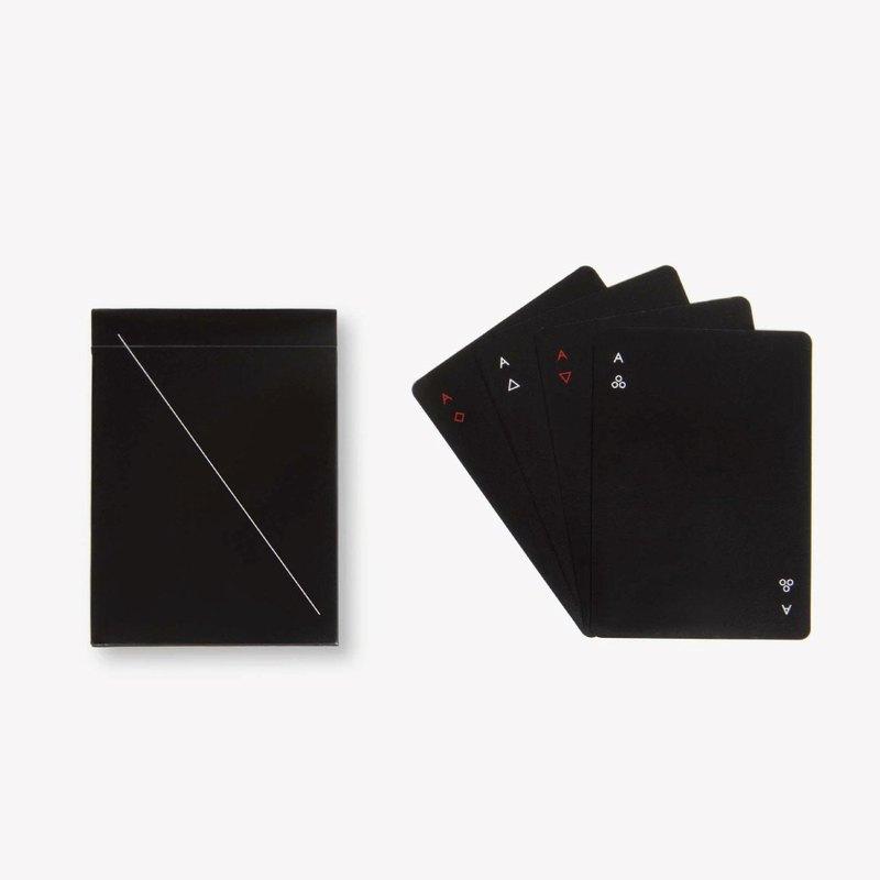 Minim極簡主義撲克牌 - 尊爵黑 台灣製造 MIT