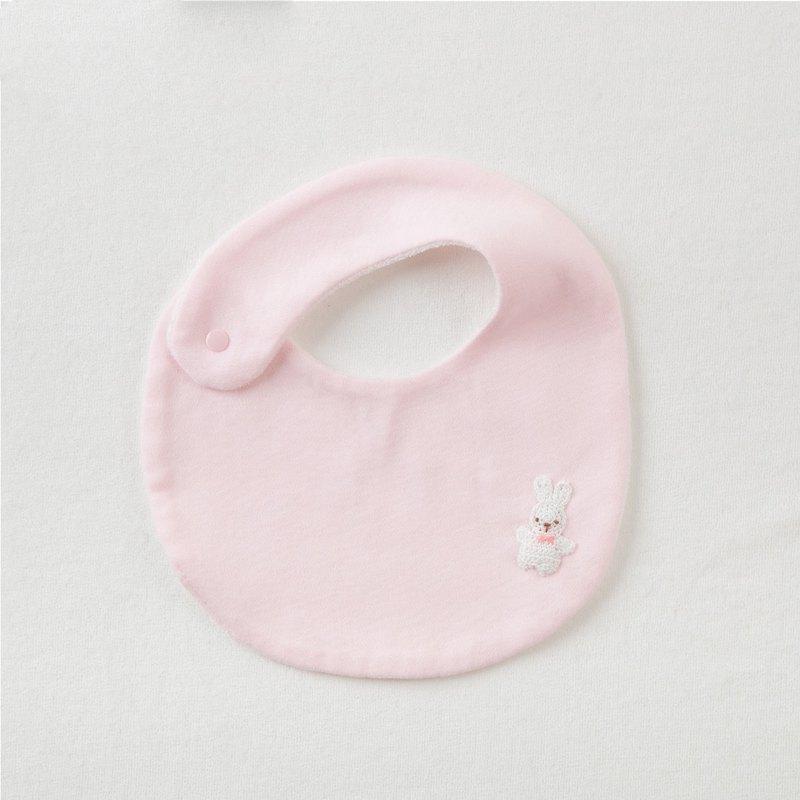 【妖精の森】粉紅小兔圍兜