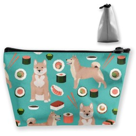 Makeup Bag Travel Carry Case Cosmetic Tote Bag - Ship Map