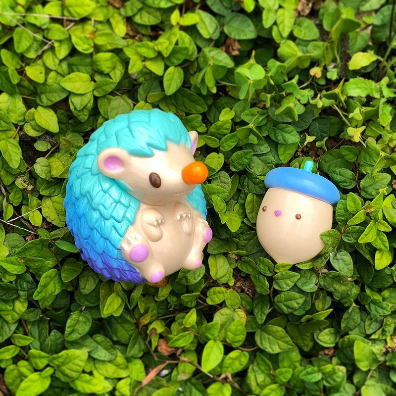 松果與奈弟 海洋微風版 設計師 玩具 刺蝟 公仔 擺飾