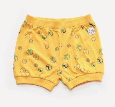 2015 春夏 indikidual 黃色marble print短褲