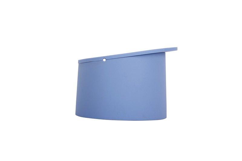 FLEX Round 矽膠收納置物盒 (淺藍色)