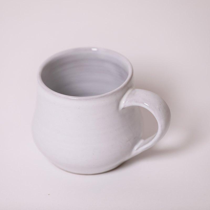 豐滿馬克杯-白-公平貿易