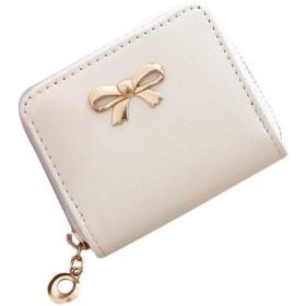 AYATR財布ハンドバッグ女性ファッションシングルプル固体ジッパー弓小さな正方形バッグコインバッグ