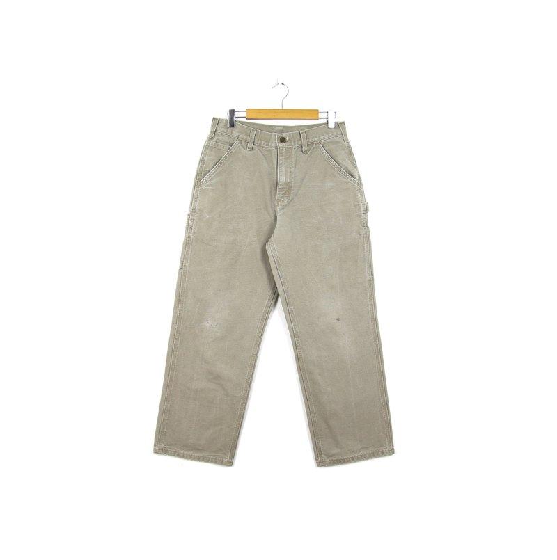 Back to Green:: Carhartt 不飽和淺灰 / vintage pants
