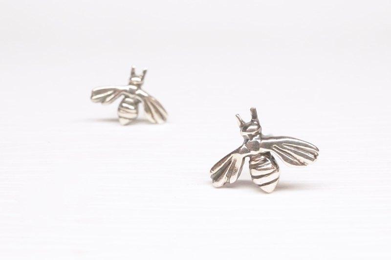 《二毛銀》【蜂系列─小蜜蜂小耳環】
