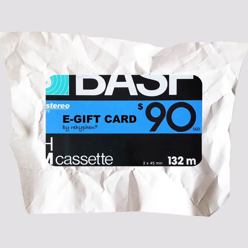 禮品卡 | 電子 |  E-gift card SGD90 | 男友生日禮物 推薦