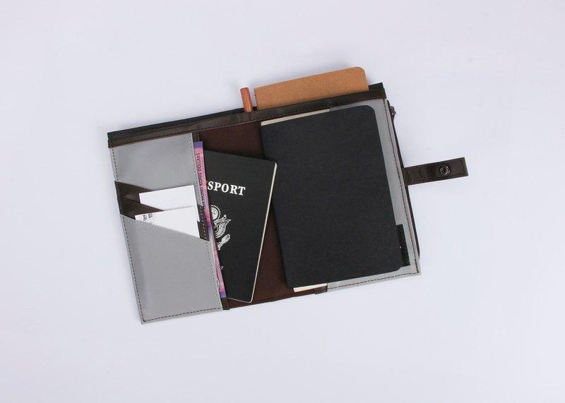 換季特賣studioHELP原創設計防潑濺牛津布筆記本手賬本封套護照夾