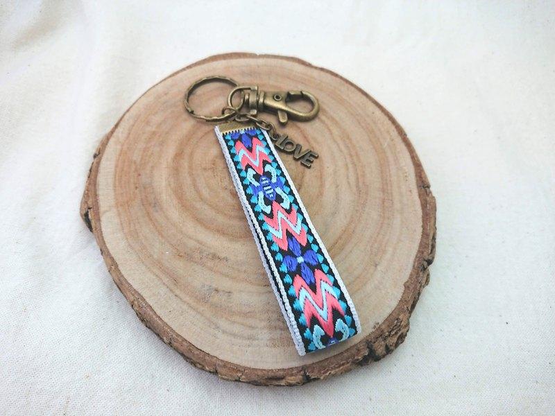 【織帶鑰匙圈】沙漠櫻花