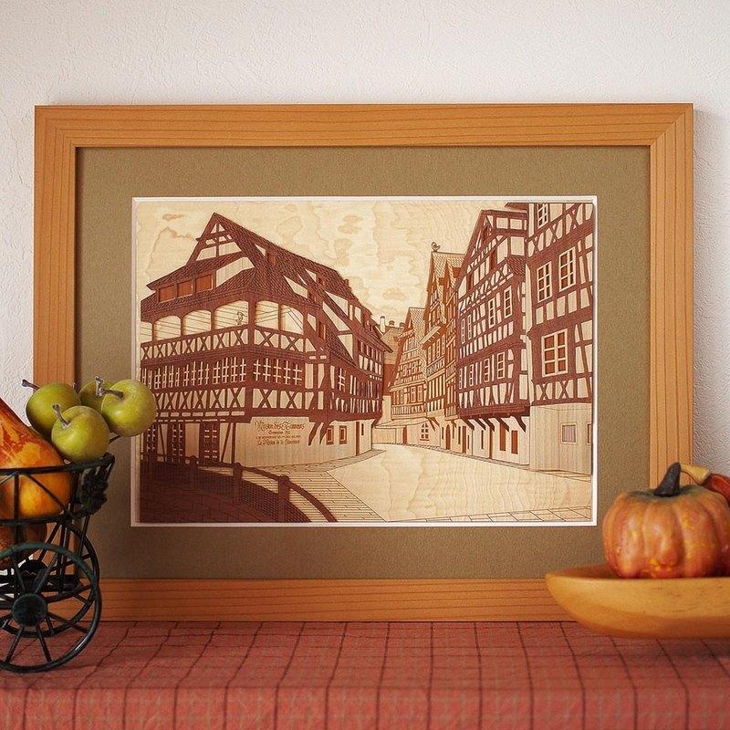 木樑圖片斯特拉斯堡