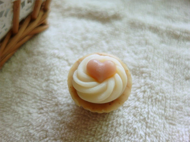 QQ小愛心迷你杯子蛋糕皂  婚禮小物生日禮耶誕節七夕情人節