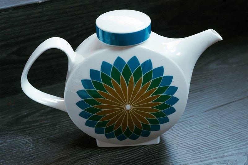 德國老件ー青藍款古董水壺 / 茶壺