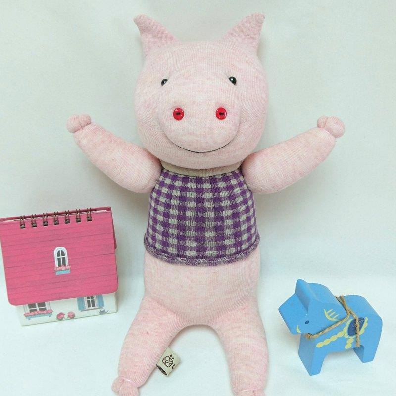 粉嫩豬 / 玩偶 / 襪子娃娃 / 豬