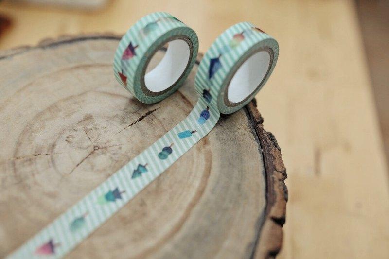 紙膠帶-小木森林