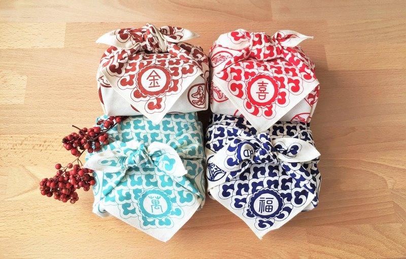 金喜萬福  頂級4款手採手製台灣茶包裹巾組合  (  台港澳免運)