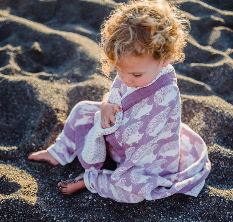MILKBARN 大樂唯 - 雙層有機棉嬰兒毯