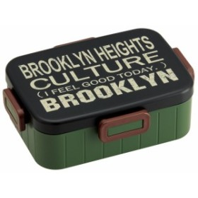 【送料無料】スケーター YZFL9 4点ロックランチボックス ブルックリン 1個