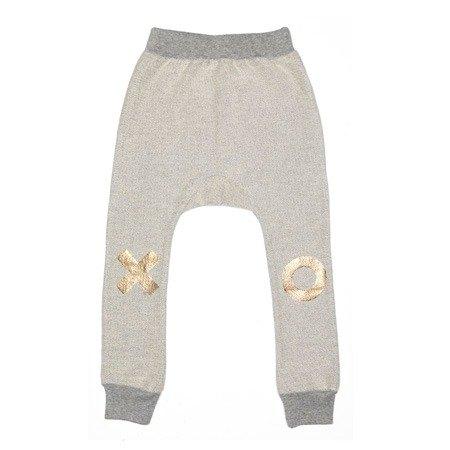 2015春夏 Beau loves 灰底GLOD XO飛鼠褲