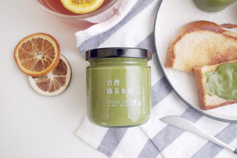 台灣綠茶拿鐵 抺醬【 140ml / 220ml 】