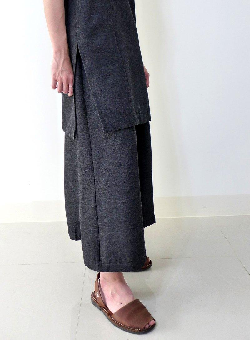 芝麻糕---大寬褲/裙