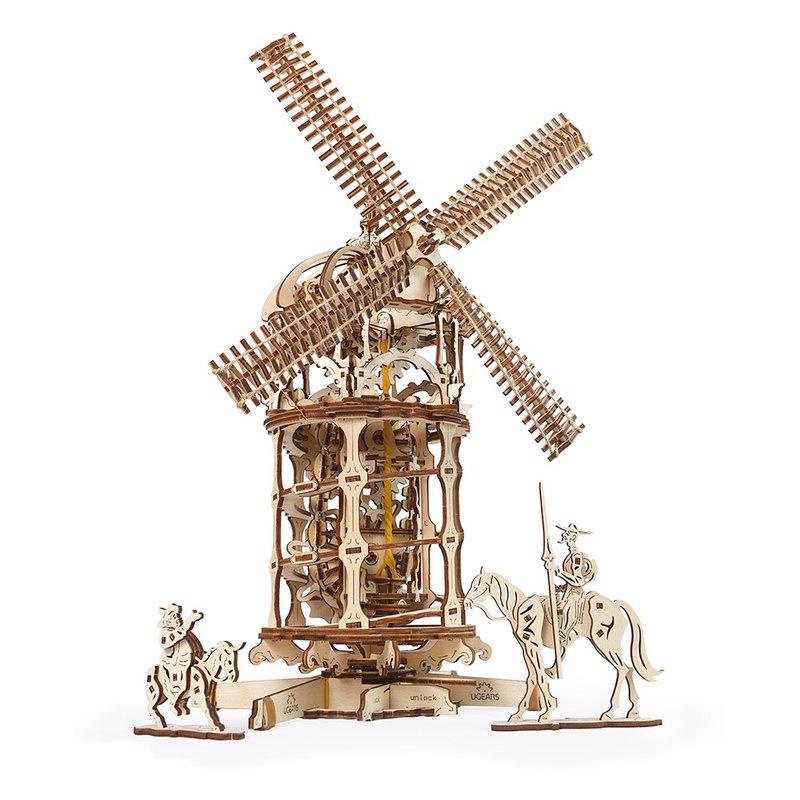 /Ugears/ 烏克蘭木製模型 Ugears 唐吉軻德的風車 Tower Windmill