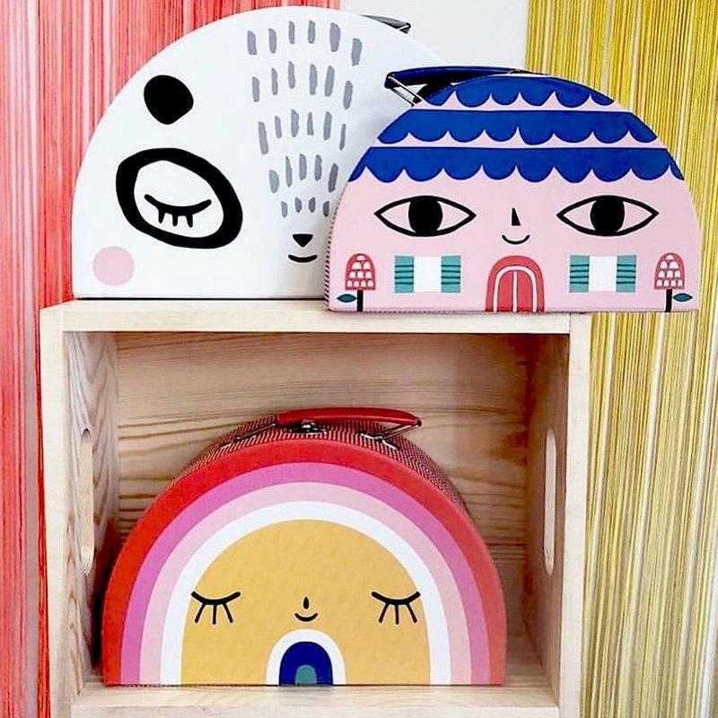 荷蘭Petit Monkey ─ 玩具收納手提箱(三入組)