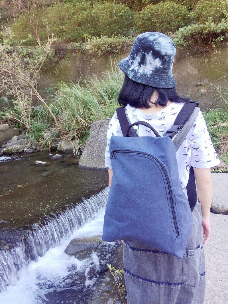 畚箕包/斜背包/後背包/側背包/手提包/帆布包/石洗藍