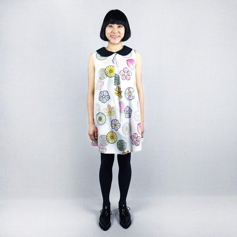 東京和菓 ● 無袖傘狀洋裝