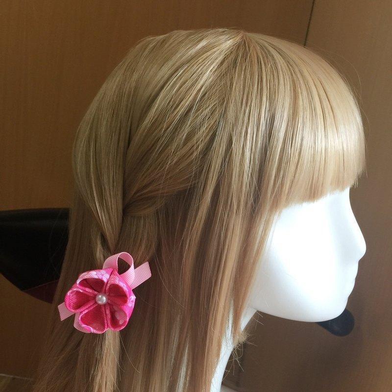 典雅和風小花朵兒。髮束/髮夾