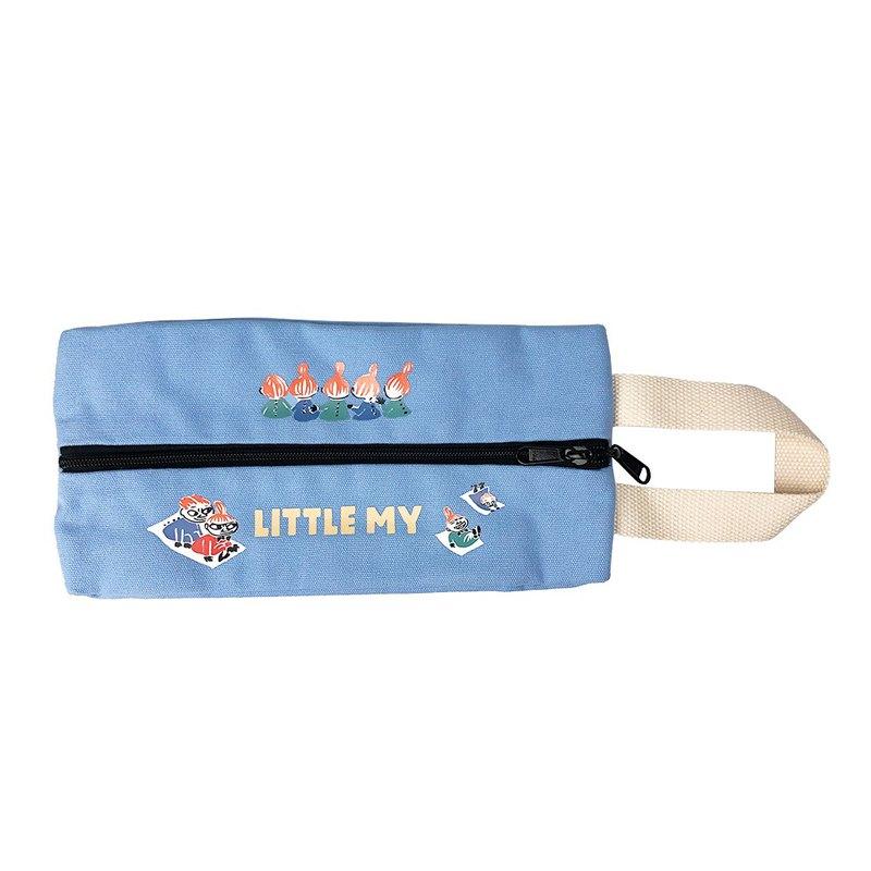 Moomin嚕嚕米授權-多功能面紙包(水藍)
