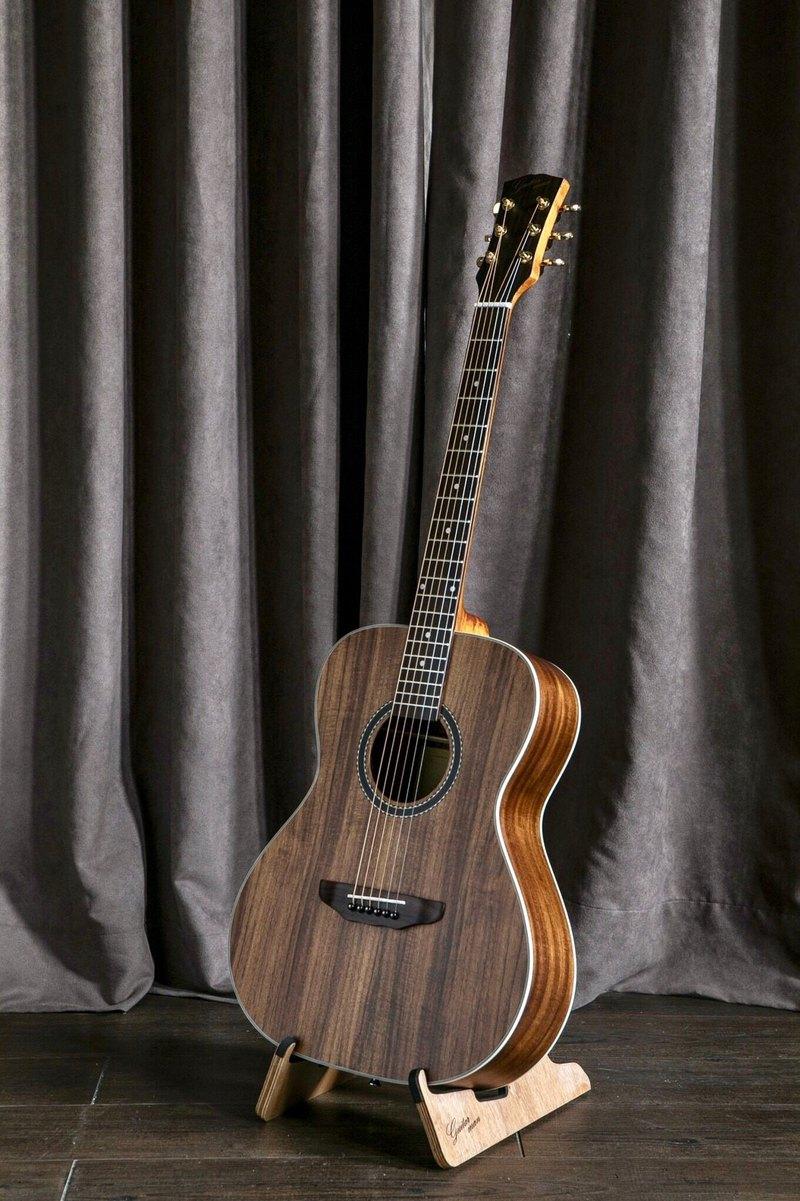 台灣原創 guitarman M-51K 40吋 全相思木面單板 手工OM桶身吉他