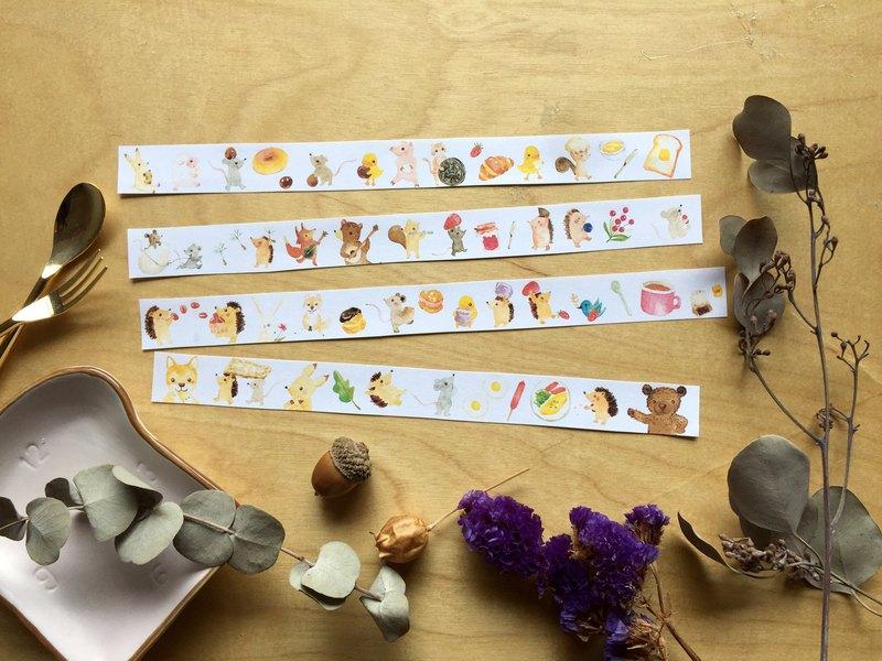 Zoe's forest 森林小舖 森林小廚房+任一紙膠帶免運組合