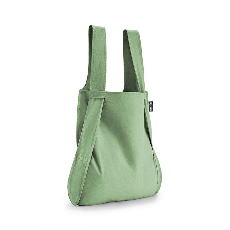 德國 Notabag 三用後背包/購物袋/手提袋/肩背袋 - 抹茶