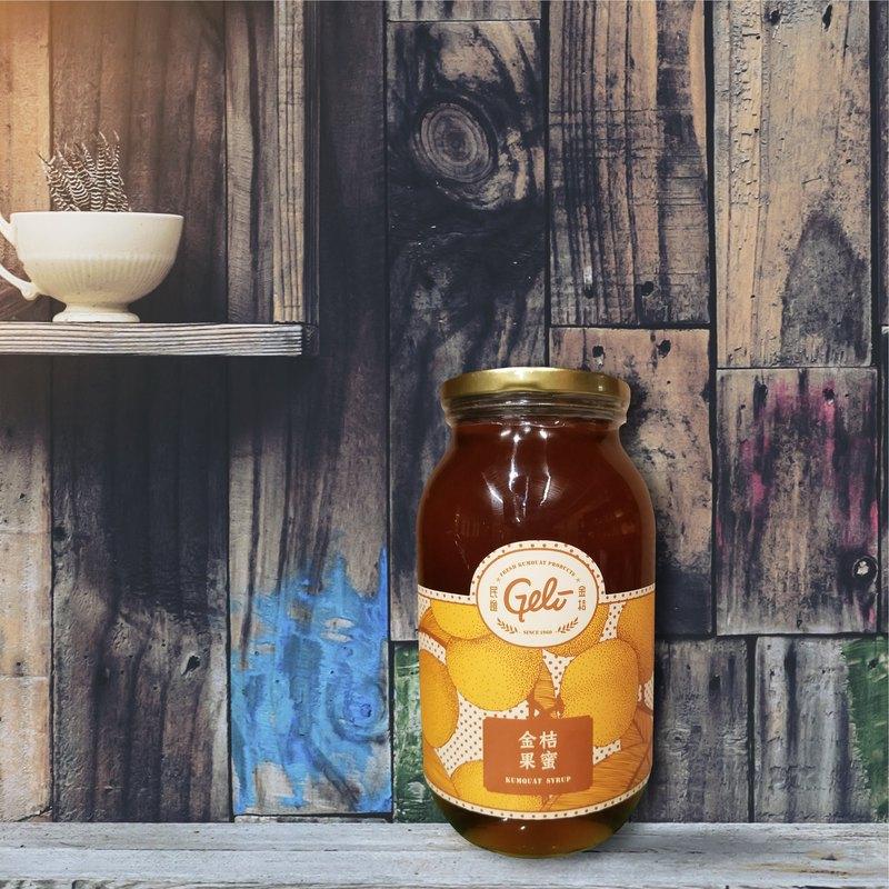 Geli金桔果蜜濃縮汁 1150克 加送 金桔檸檬軟糖