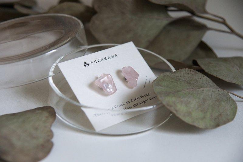 CRACK | 礦物系耳環 |  EARRINGS