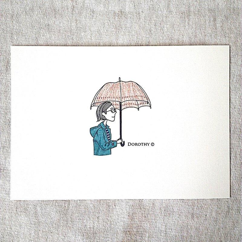 我在想你明信片-C091