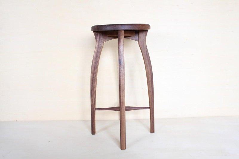 廚房凳子·R·黑胡桃