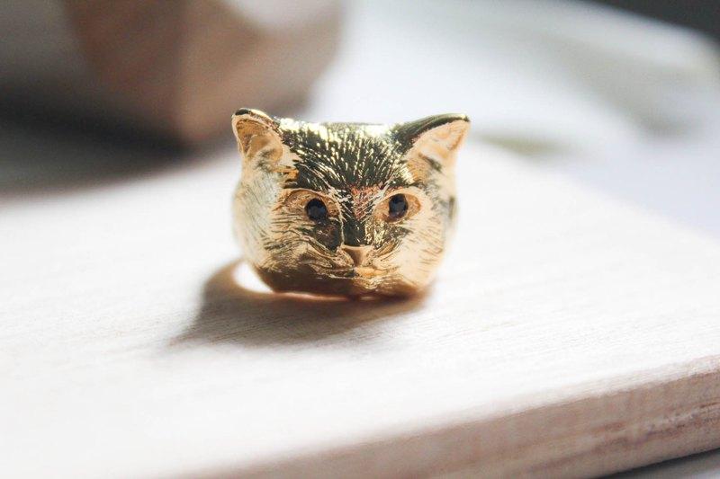 超萌喵星人猫咪戒指