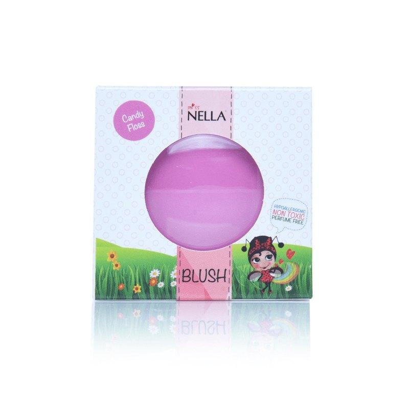 英國【Miss Nella】兒童水性腮紅-棉花糖紫