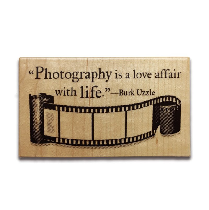 KEEP A NOTEBOOK 寫筆記 CKN-032 楓木印章_ C.Photography Life