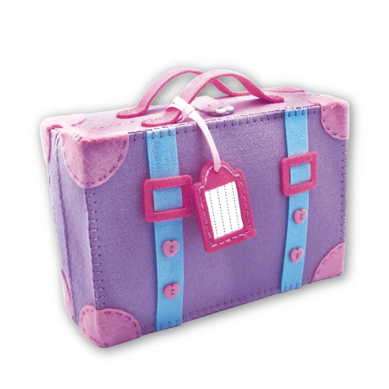 Fairy Land【材料包】一起去旅行手提箱-紫色