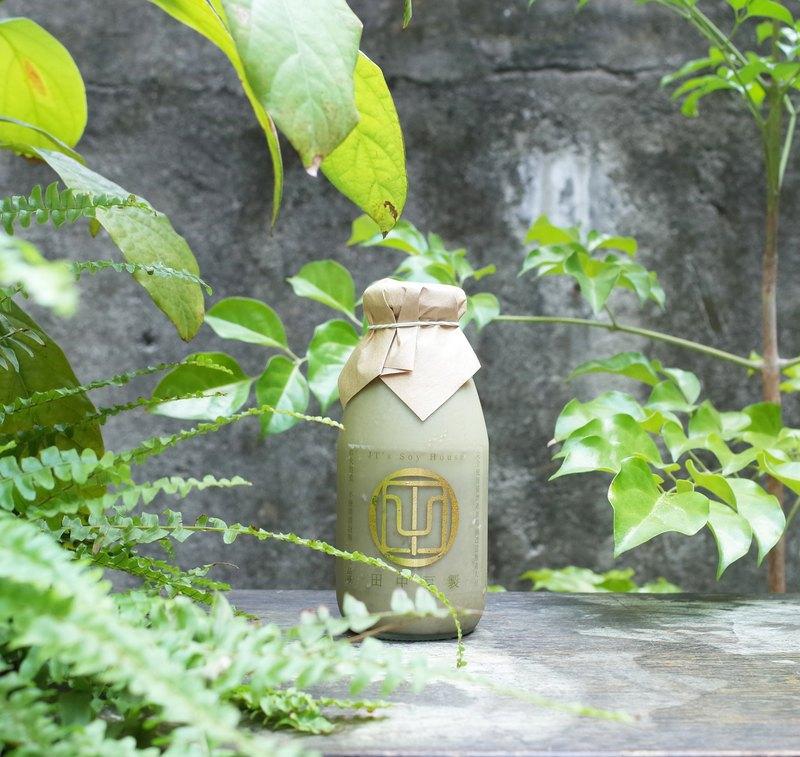 田中豆製 坪林包種茶豆漿 少許糖