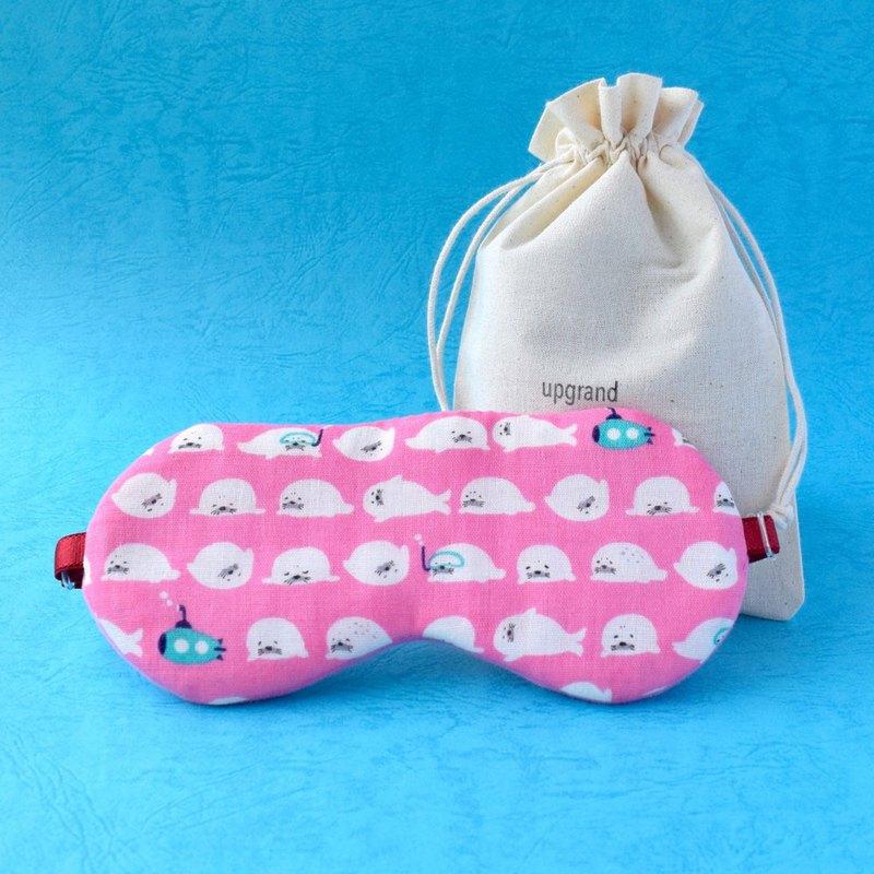 日本眼罩專賣店/懶懶海豹/pink/眼罩/