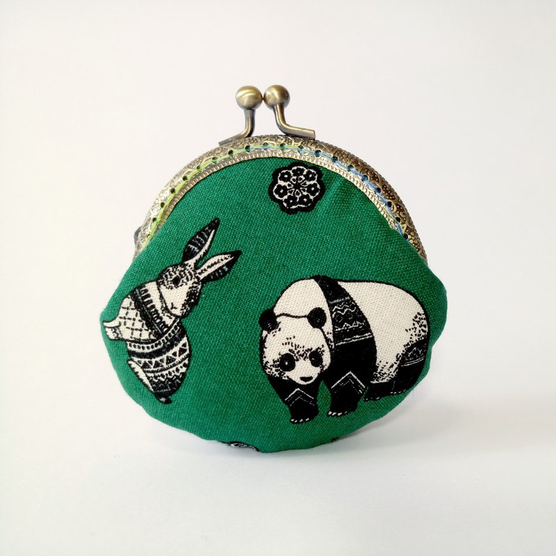 1987 Handmades 【動物派對】口金包 零錢包 手拿包