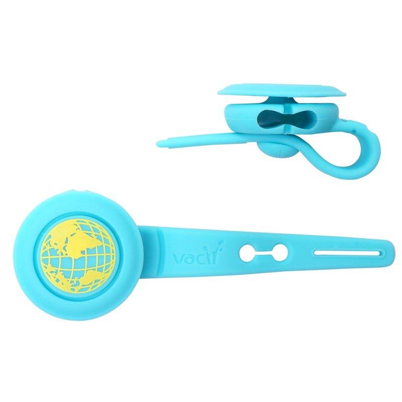 Vacii Earbud Button 耳機繞線器-地球
