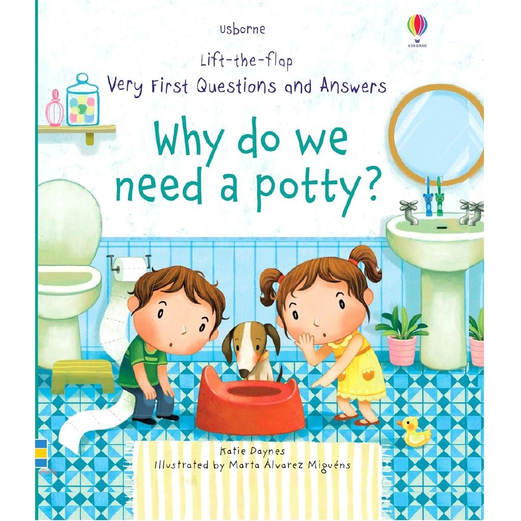 Why do we need a potty? (硬頁翻翻書)【三民網路書店】(硬頁書)[75折]