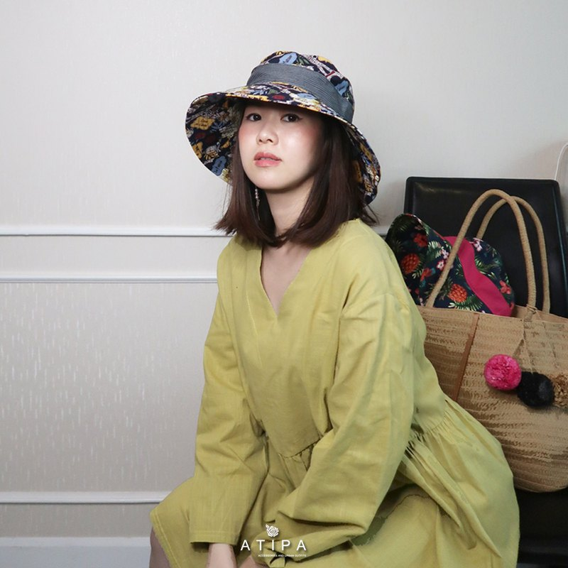 ATIPA Leska黃色自由大小連衣裙